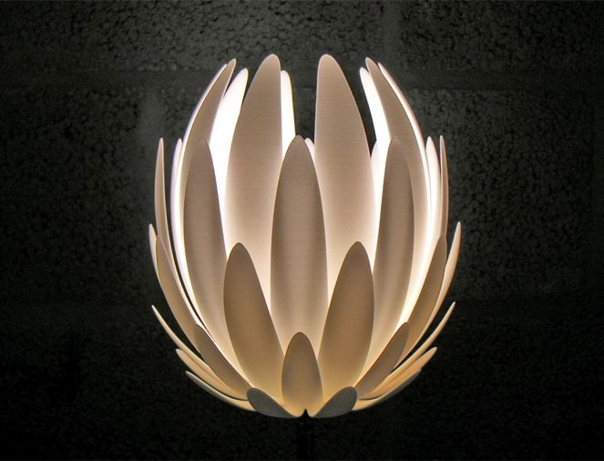 MGX Laser Sintered Light By JANNE KYTTÄNEN For MGX By Materialise Lily.MGX
