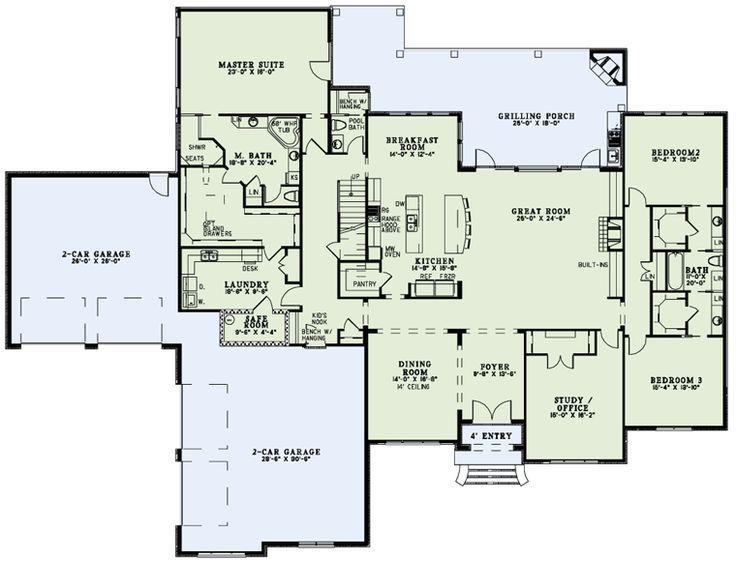 Aspen Rancher 4 Bedrooms Baths Full Laundry Room Open Floor Plan And Huge Master Wic My Favorite Pl Floor Plans House Floor Plans Monster House Plans
