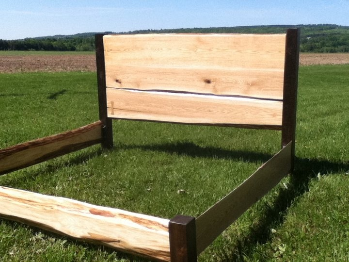Live Edge Wood Slab Bed Frame Great Headboards Made From
