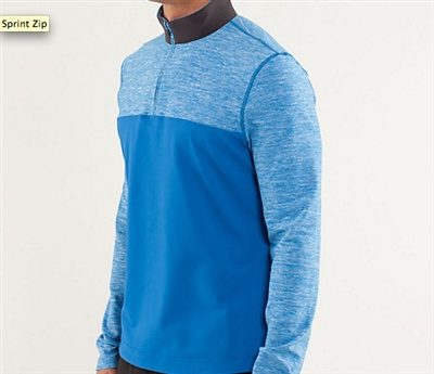 Mens' lulu pullover for Winter weather running!