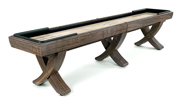 9u0027 Newport Shuffleboard Table
