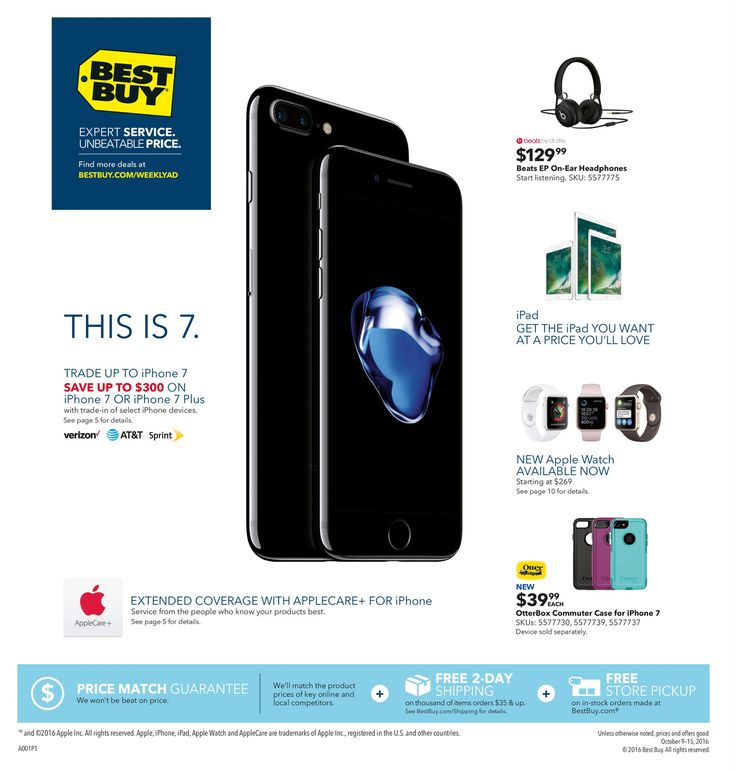 Best Buy Weekly Ad October 9 - 15, 2016 - http://www.olcatalog.com/electronics/best-buy-weekly-ad.html