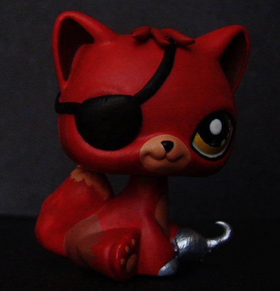 Kawaii Foxy Fnaf Five Nights At Freddy S Ooak Custom