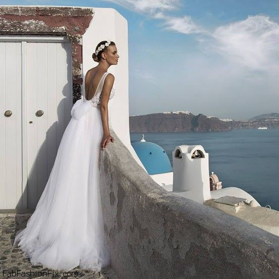 Julie Vino Santorini 2016 Bridal Collection. #wedding #julievino #santorini
