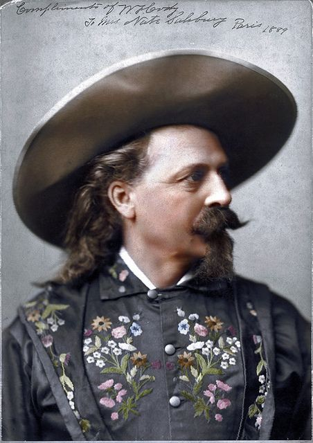 Buffalo Bill. Paris. 1889.