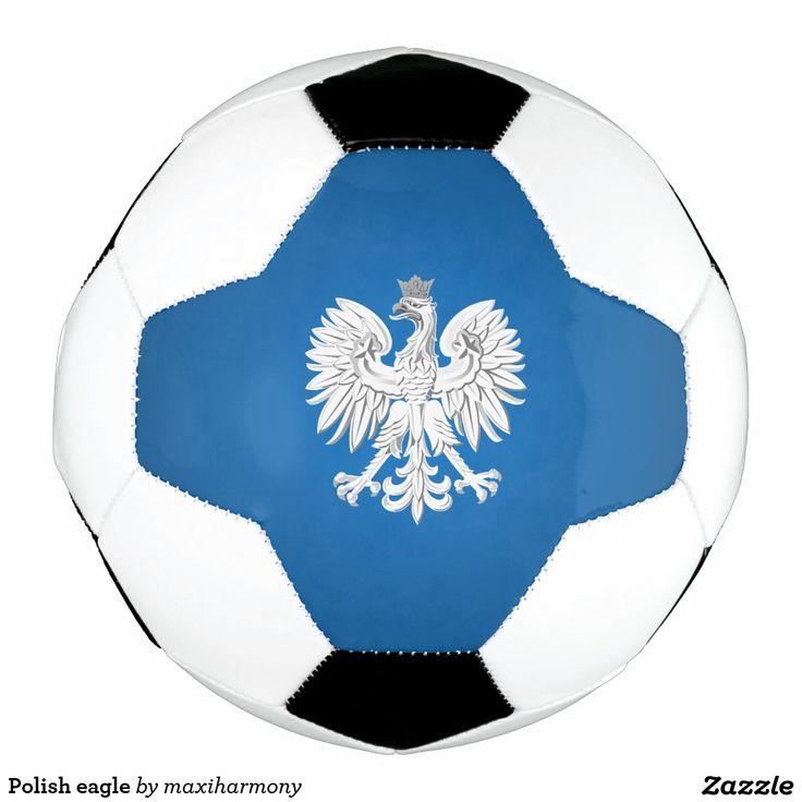Polish eagle soccer ball