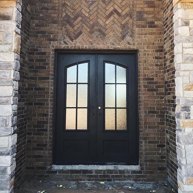 Pinkys Air 8 W Aquatex Glass Iron Doors Iron Entry Doors