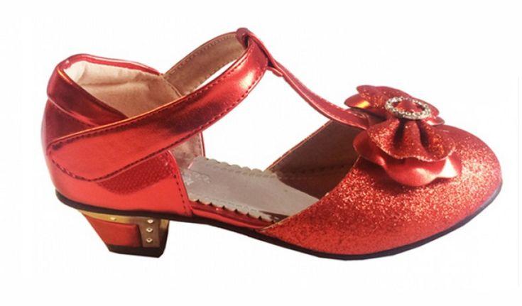 """Παπουτσια, Γοβες Για Κοριτσια με Τακουνια Για Παρανυφακι - Παρτυ σε Κόκκινο""""Ruby"""" - https://memoirs.gr/"""