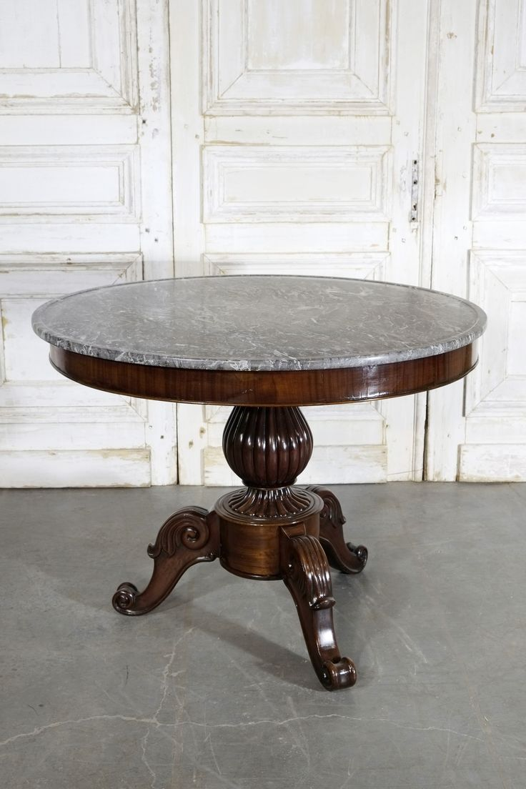 Antique Napoleonic Mahogany Centre Table