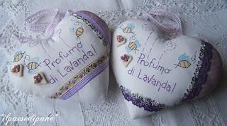 Lavender Hearts - Cuori Lavanda