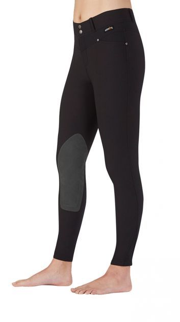 Cross Over Kneepatch Riding Breech black | Kerrits