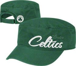 Boston Celtics Women's Green adidas Military Hat