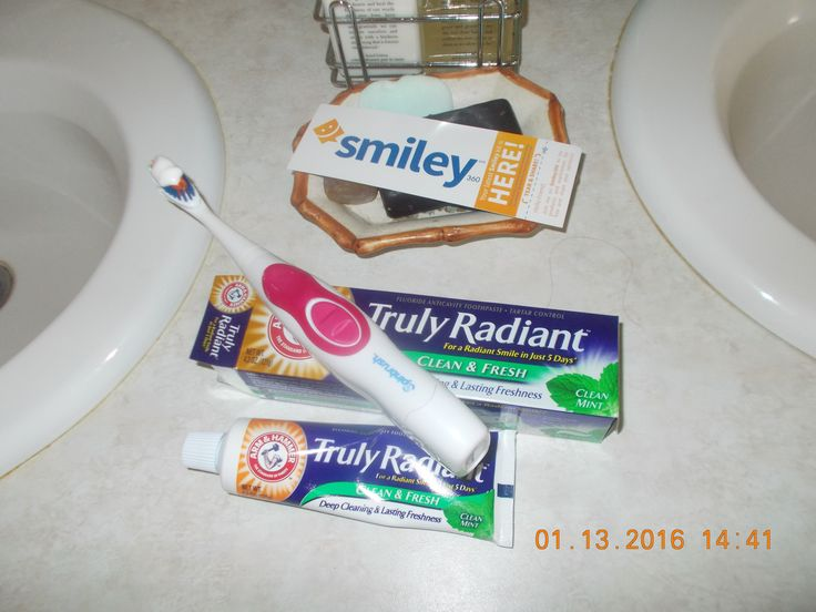 Arm & Hammer Truly Radiant Clean and fresh toothpaste is amazing! #Gotitfree from @smiley360 .. Thanks!!