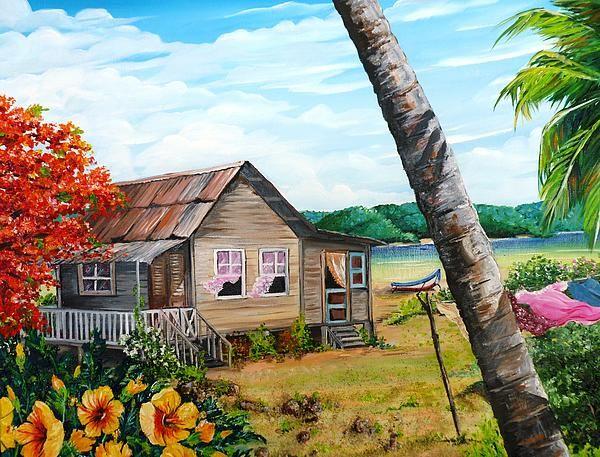 Tobago Life Painting By Karin Kelshall