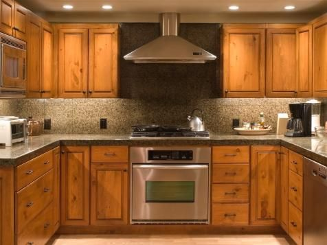Browse helpful info on unfinished kitchen cabinets, and sort through options for staining, painting or leaving them in their natural state.