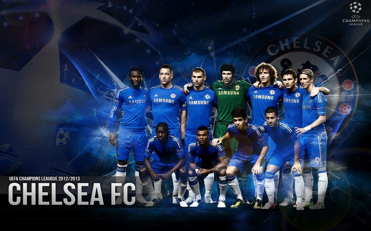 Chelsea Squad 2013 Desktop Wallpaper