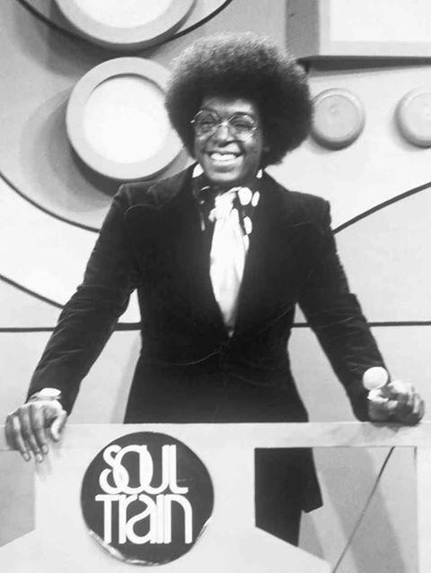 Don Cornelius, host of Soul Train