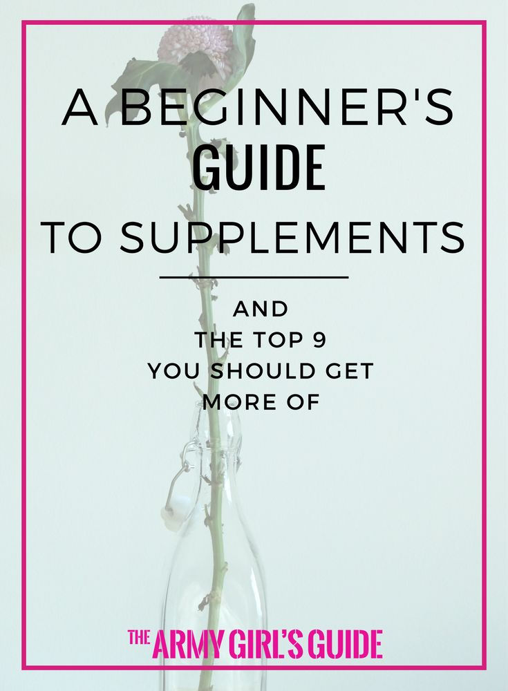 Which vitamins should you take? What does each supplement do? Aid sleep, relieve stress, manager weight - make sure you're getting the right vitamins and minerals, and see how you can do it naturally with this guide to supplements