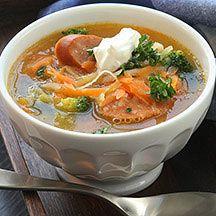 Soppa - gott, nyttigt och enkelt