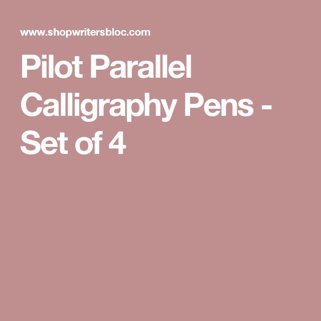 25 Best Ideas About Calligraphy Pen Set On Pinterest