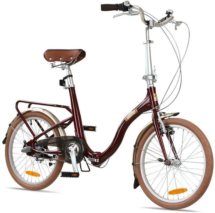 "Citizen Bike folding bike shop   Portable & Folding Bikes   BARCELONA Citizen Bike 20"" 3-speed Folding Cruiser with Alloy Frame"