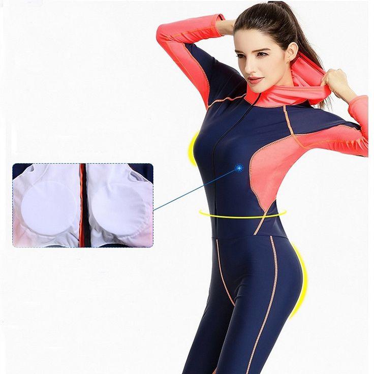 Fardas 2017 New swimwear Women's Jumpsuit Bodysuit Long Legs Rash Guards Swimsuit Beachwear Bathing Suit