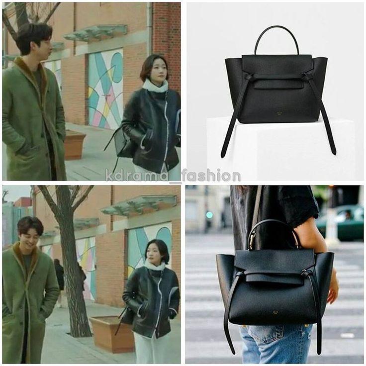 "1,642 lượt thích, 23 bình luận - @kdrama_fashion trên Instagram: ""Kim Go Eun carried CÉLINE Micro Belt Bag_Black $2,650 in Goblin Drama Episode 14. Photo credit to…"""