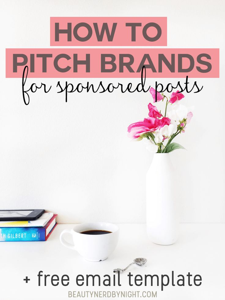 Want to take your blogging to the next level and start working with brands? Find out How to Pitch Brands + a FREE email template!