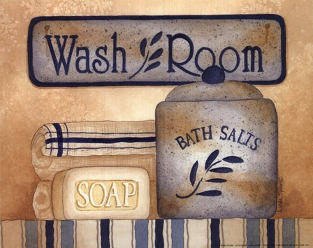 Wash Room by Linda Spivey