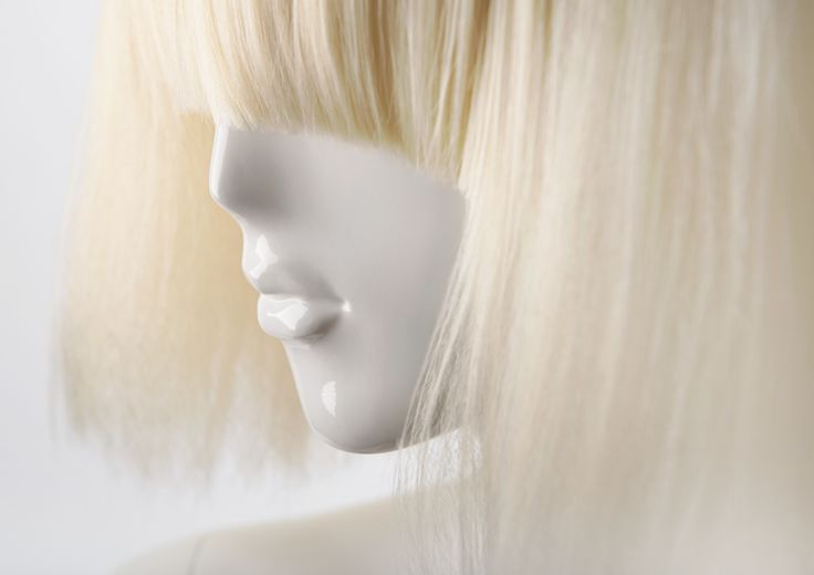 FEMALE WIGS #MoreMannequins #FemaleMannequin #hairstyle #blondhair #bangs