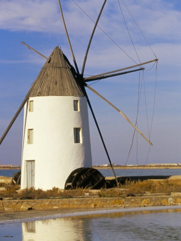 Molino en Lo Pagan. Mar Menor.  Murcia. España.