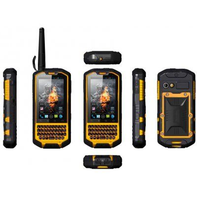 "Rugged Android 4.0 Phone ""Runbo X3"" - 3.5 Inch Screen, QWERTY Keyboard, 1GHz Dual Core, Dual SIM, Waterproof, Walkie Talkie"