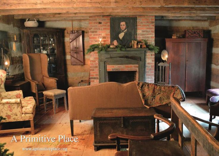 A Primitive Place Magazine181 best Colonial living rooms images on Pinterest   Country decor  . Primitive Decorating Ideas For Living Room. Home Design Ideas