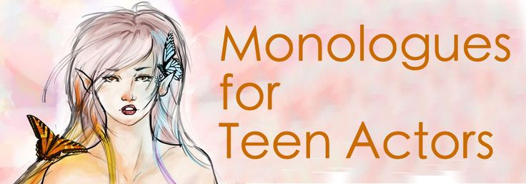 teen teenage high school age monologue free for classroom, audition, workshop