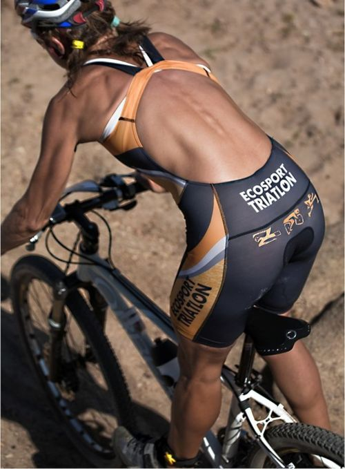 Cyclist Chick looks tough as nails. Seriously built tri bod. Strong is an under appreciated adjective.