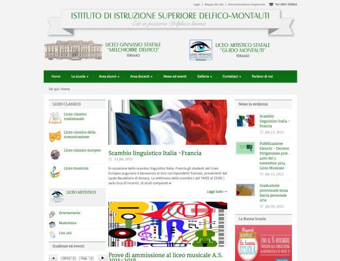 Realizzazione sito web Liceo Classico, Teramo. http://www.tooltipweb.it/portfolio/sito-web-liceo-classico-teramo/