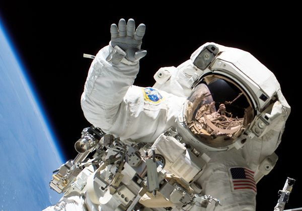 Astronaut Heidemarie M. Stefanyshyn-Piper