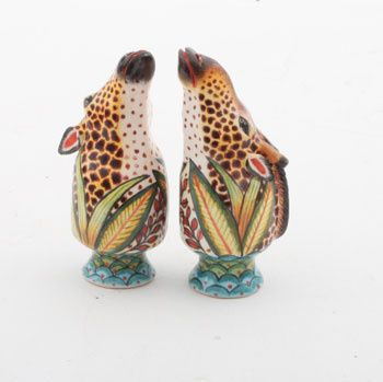 Ardmore Ceramics Giraffe Salt & Pepper