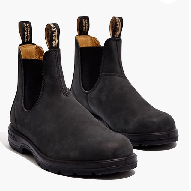Blundstone Super 550 Rustic Black Boot Aus Size 5 Boots Blundstone Boots Black Boots
