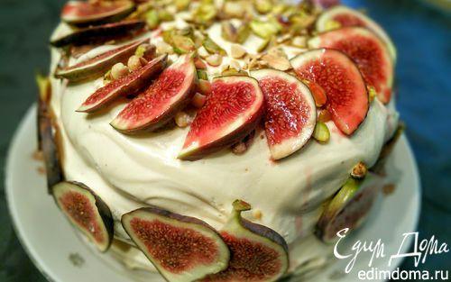 """Осенний торт """"Карета для золушки""""   Кулинарные рецепты от «Едим дома!»"""