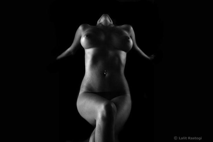 Fine Art Black And White Nude 14