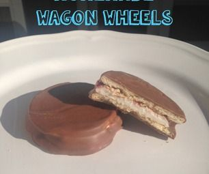Homemade Wagon Wheels! (chocolate biscuit)/// MOON PIES!!