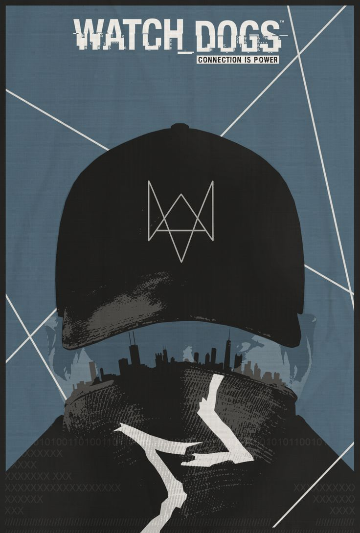 Poster design near me - Watch Dogs This Person Has Cool Style Will