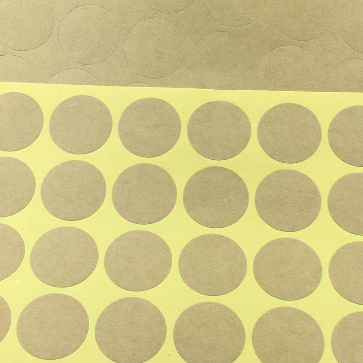 500 ШТ. 3 см Круглый Крафт Бланк Наклейка Этикетки Бумажные Этикетки для Упаковки самоклеющиеся Seal наклейки Для Подарка/Выпекать/коробка/Ювелирные Изделия/Торт купить на AliExpress