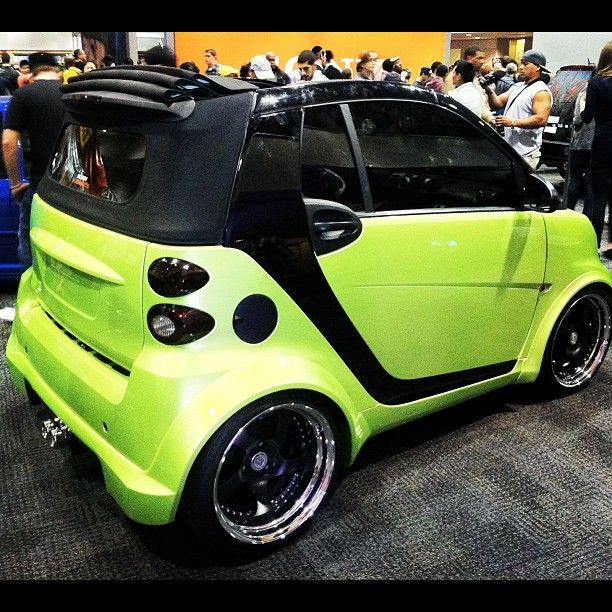 instagram photo by andrew colabella smartcar fortwo tuning lime smartonthego pinterest. Black Bedroom Furniture Sets. Home Design Ideas
