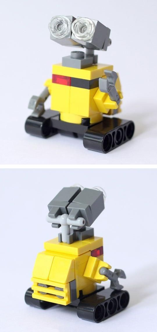 WALL-E  -- custom LEGO build by BricksBen on etsy                                                                                                                                                                                 More