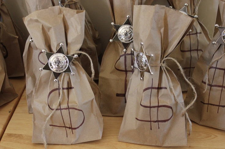 Cowboy/Cowgirl Birthday Party Loot Bags