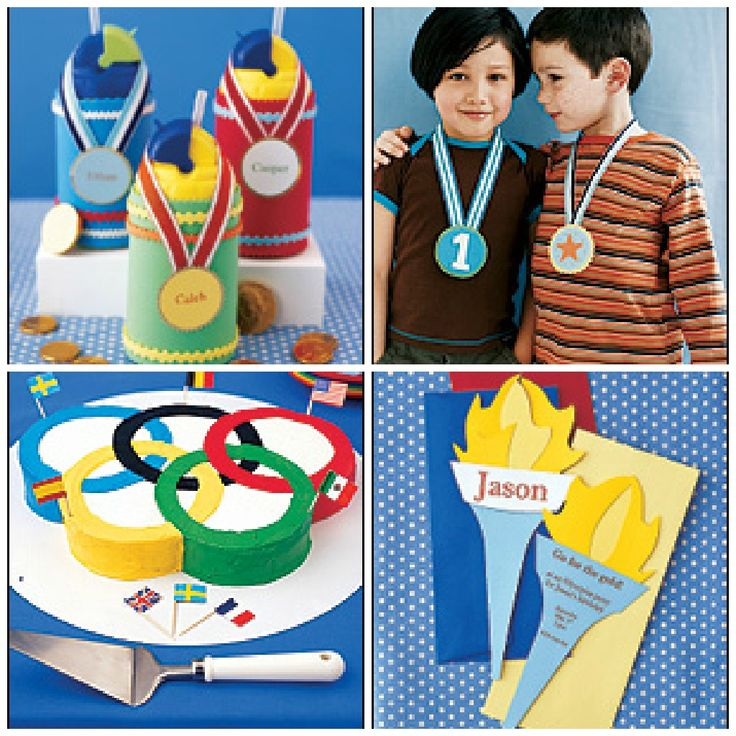 olympics party ideas - Google Search                                                                                                                                                      More