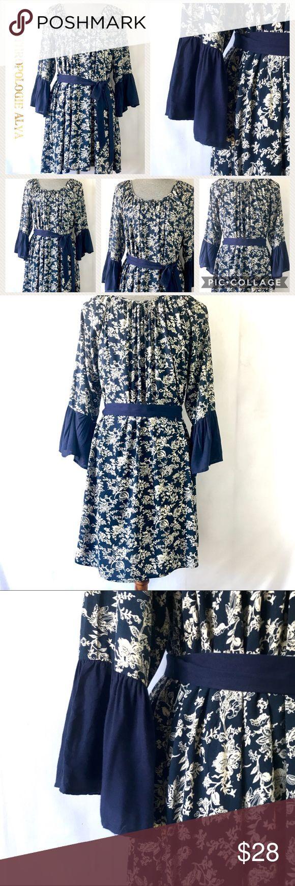 "Anthropologie Alya Beautiful boho dress Beautiful Flowy Summer Dress, Size (S), New Without Tags (NWOT) Length: 32"" super cute! Alya Dresses Mini"