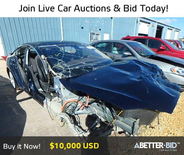 Wrecked Lamborghini For Sale: Salvage 2012 TESLA TESLA For Sale